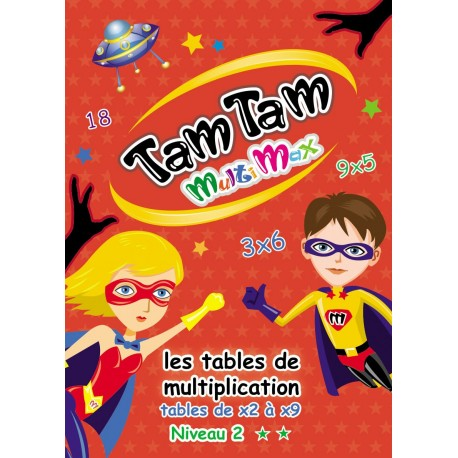 Tam Tam MultiMax - Les tables de x2 à X9