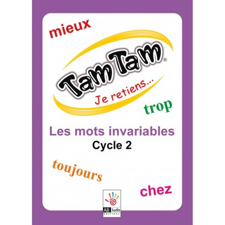 Tam Tam Je retiens Les Invariables Cycle 2