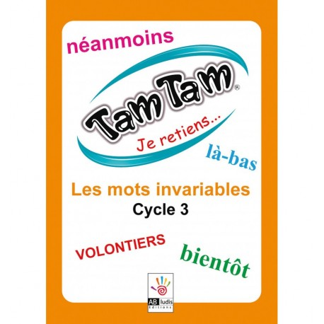 Tam Tam Je retiens Les Invariables Cycle 3