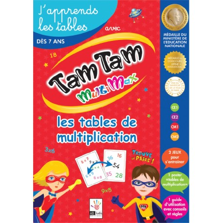 Tam Tam MultiMax - J'apprends les tables de multiplication